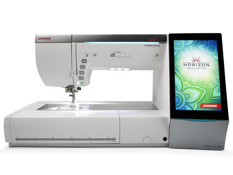 Компьютеризированная швейно-вышивальная машина Janome