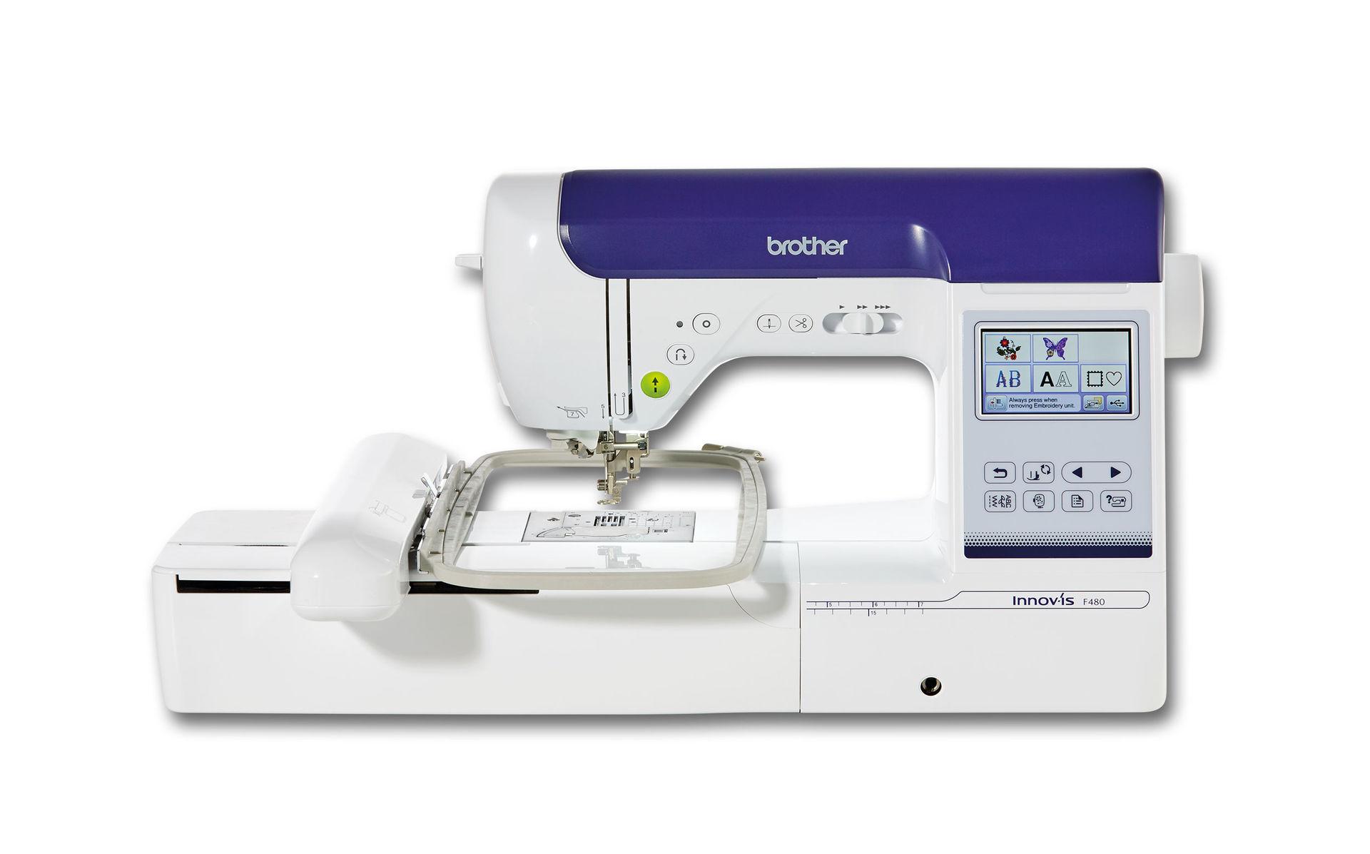 Швейно-вышивальная машина